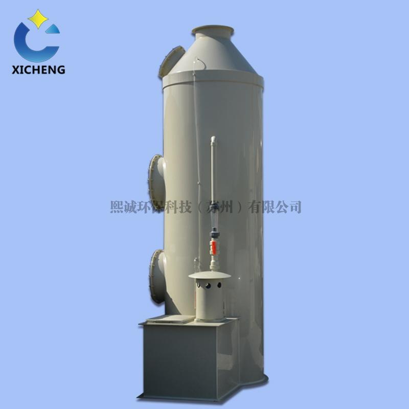 喷淋塔是怎么处理废气的它的原理是什么?